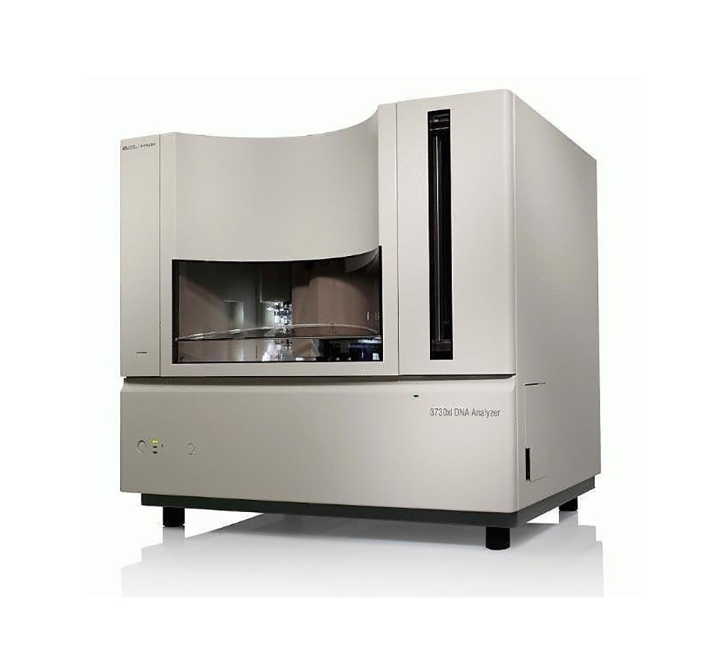 Image: The 96-capillary 3730xl DNA Analyzer is the Gold Standard for high throughput genetic analysis and used for Sanger sequencing (Photo courtesy of Thermo Fisher Scientific)