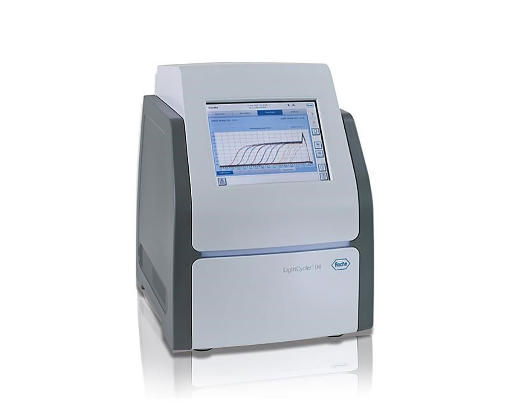 Image: The LightCycler 96 Instrument is a real-time PCR system for rapid cycling up to 96 samples (Photo courtesy of Roche Molecular Systems).
