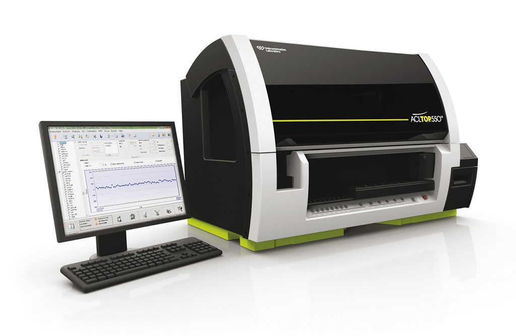Image: The ACL Top 550 hemostasis analyzer (Photo courtesy of Werfen).