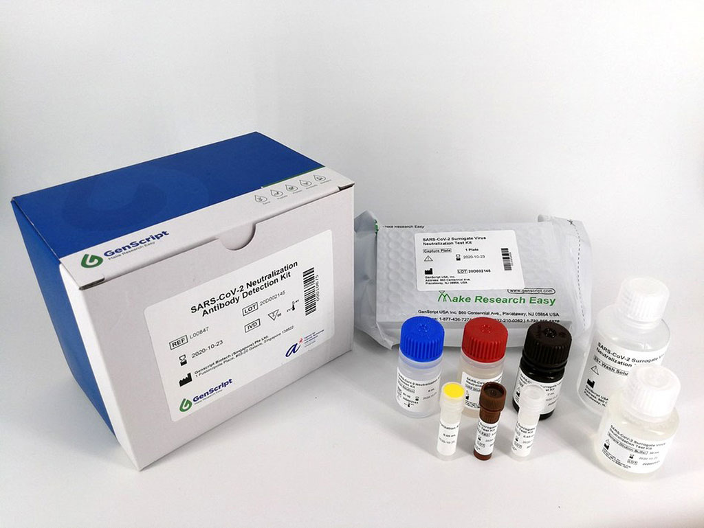 Image: SARS-CoV-2 Neutralization Antibody Detection Kit (Photo courtesy of GenScript Biotech Corporation)