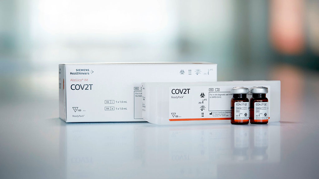 Image: COVID-19 Total Antibody Test and Molecular Test Kit (Photo courtesy of Siemens Healthineers)