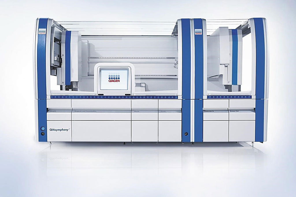 Image: The QIAsymphony SP machine enables sample preparation of DNA, RNA, and bacterial and viral nucleic acids from a wide range of starting materials (Photo courtesy of Qiagen).