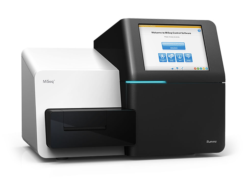 Image: The MiSeq Next Generation Sequencer is an integrated instrument that performs clonal amplification, genomic DNA sequencing, and data analysis with base calling, alignment, variant calling, and reporting in a single run (Photo courtesy of Illumina).