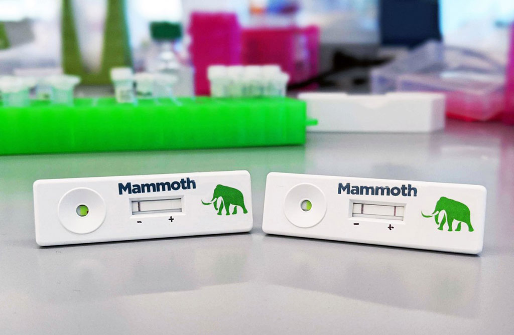 Image: Mammoth's CRISPR-based Covid test (Photo courtesy of Mammoth Biosciences)