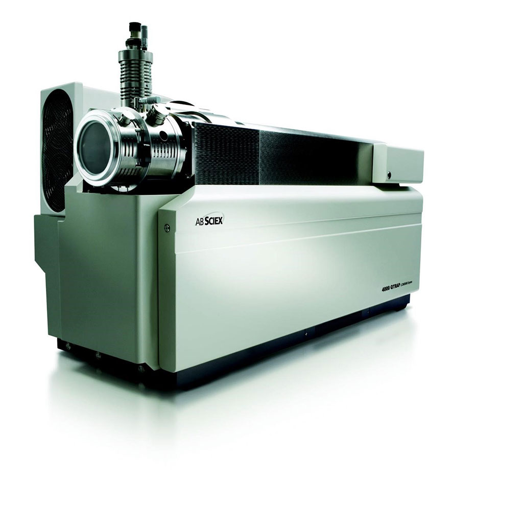 The AB MDS SCIEX API4000 tandem mass spectrometer (Photo courtesy of SCIEX).