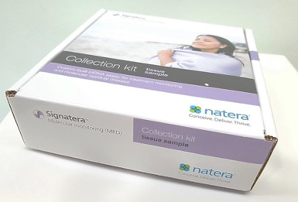 Signatera assays are the first circulating tumor DNA (ctDNA) tests custom-built for each patient based on the unique mutations in an individual patient's tumor (Photo courtesy of Natera Inc).