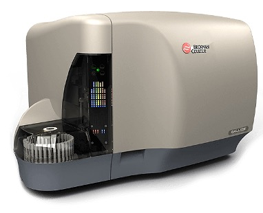 The Gallios 10-color/3-laser flow cytometer (Photo courtesy of Beckman Coulter).