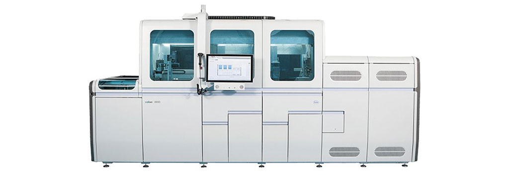 Image: Roche Cobas 8800 System (Photo courtesy of Roche)