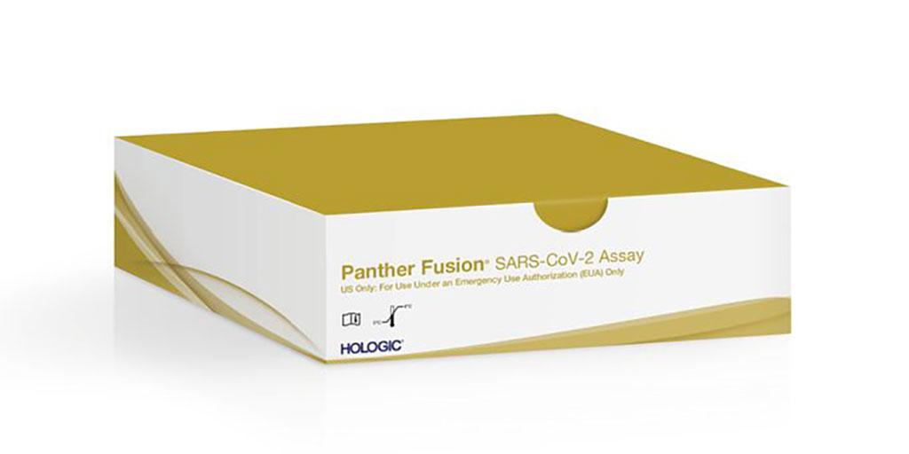 Image: Panther Fusion SARS-CoV-2 assay (Photo courtesy of Hologic, Inc.)