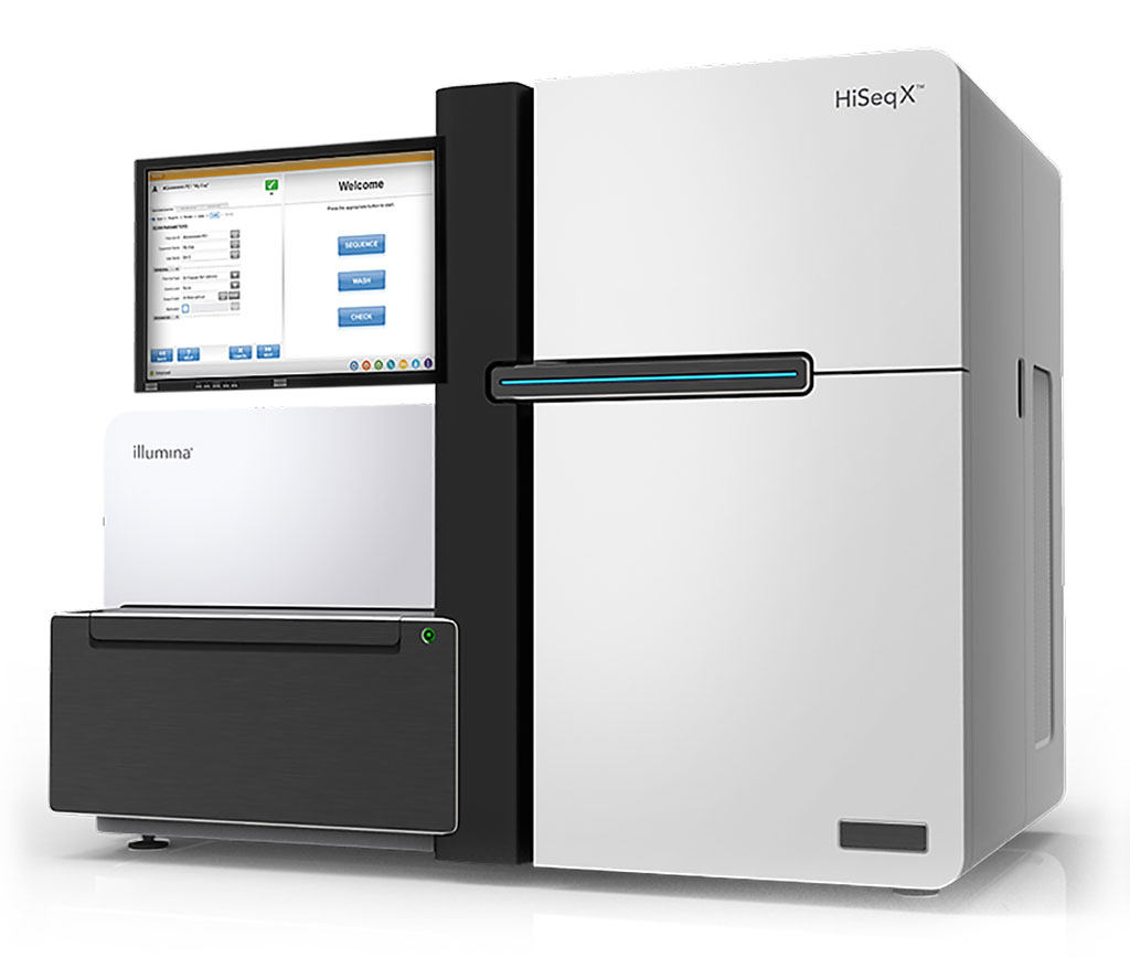 Image: The HiSeq X Series incorporates patterned flow cell technology to generate an exceptional level of throughput for whole-genome sequencing. (Photo courtesy of Illumina).