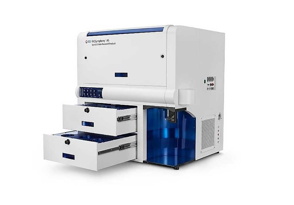 Image: The BD FACSymphony A5 flow cytometer (Photo courtesy of BD Biosciences).