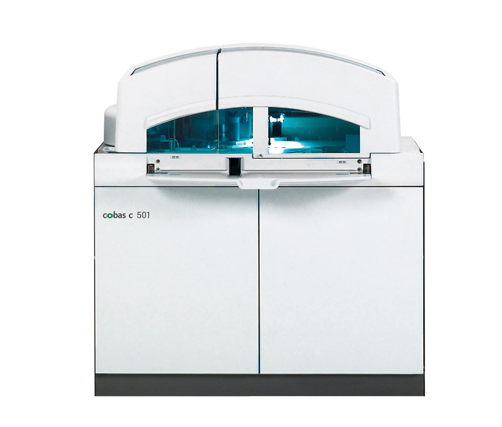 Image: The cobas c 501 module for clinical chemistry (Photo courtesy of Roche Diagnostics).