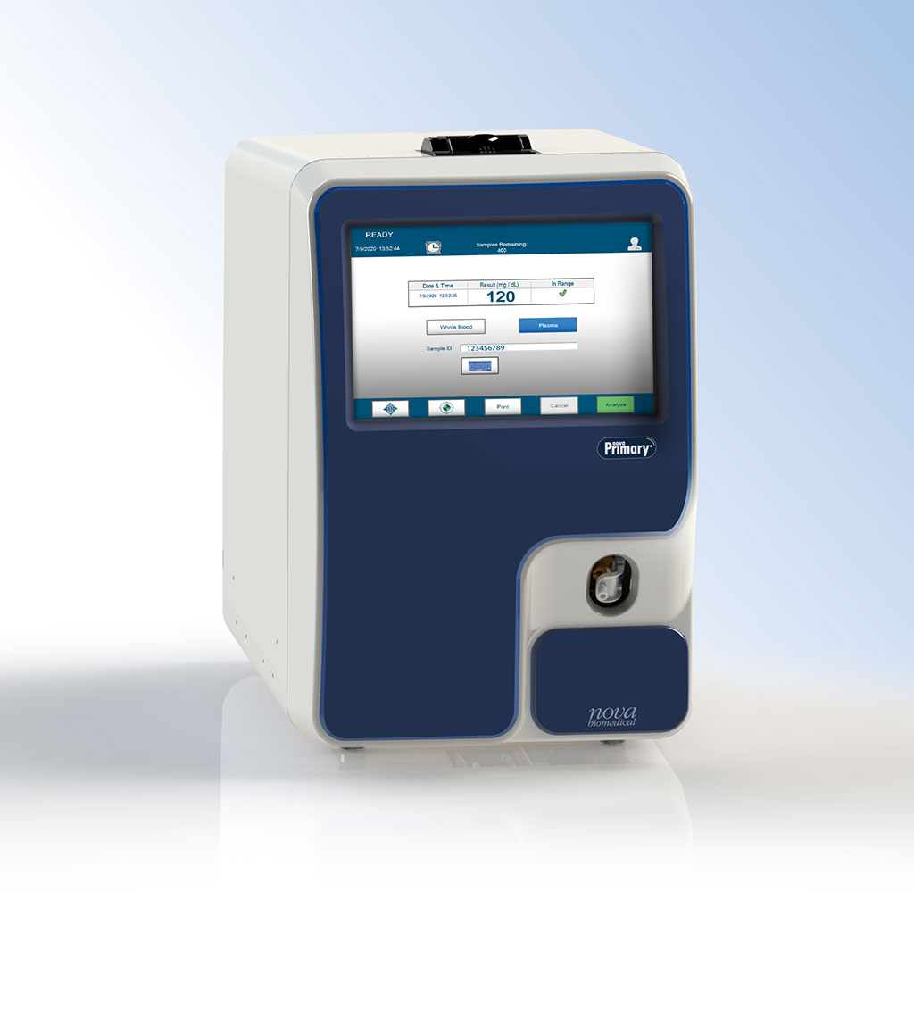 Image: Nova Primary analyzer (Photo courtesy of Nova Biomedical)