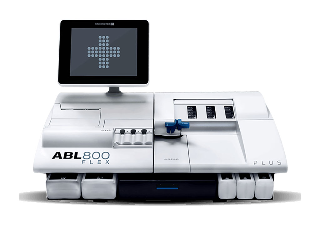 Image: The ABL800 FLEX blood gas analyzer measures a full panel of up to 18 STAT parameters on the same blood sample (Photo courtesy of Radiometer).