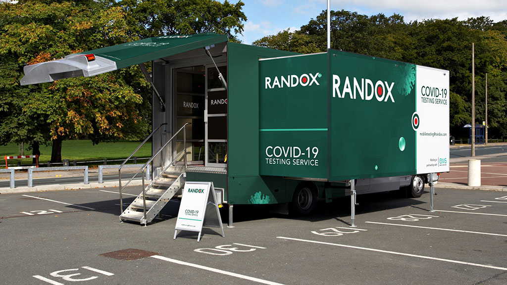 Image: A new Mobile Laboratory Service from Randox (Photo courtesy of Randox Laboratories)
