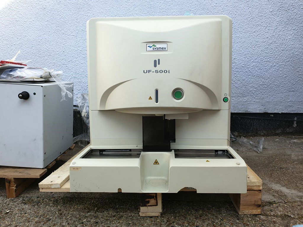 Image: The UF-500i fully automated urine particle analyzer (Photo courtesy of Sysmex Corporation).
