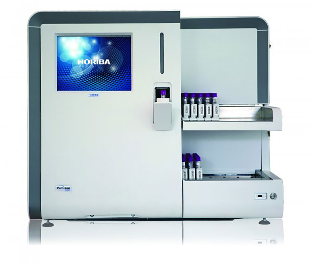 Image: The Yumizen H2500 Automatic Hematology Analyzer (Photo courtesy of Horiba)