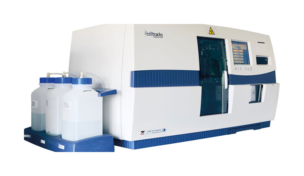 Image: The CELLSEARCH Circulating Tumor Cell (CTC) Test is used for determining the prognosis of patients with metastatic breast, prostate and colorectal cancer (Photo courtesy of Menarini Silicon Biosystems).