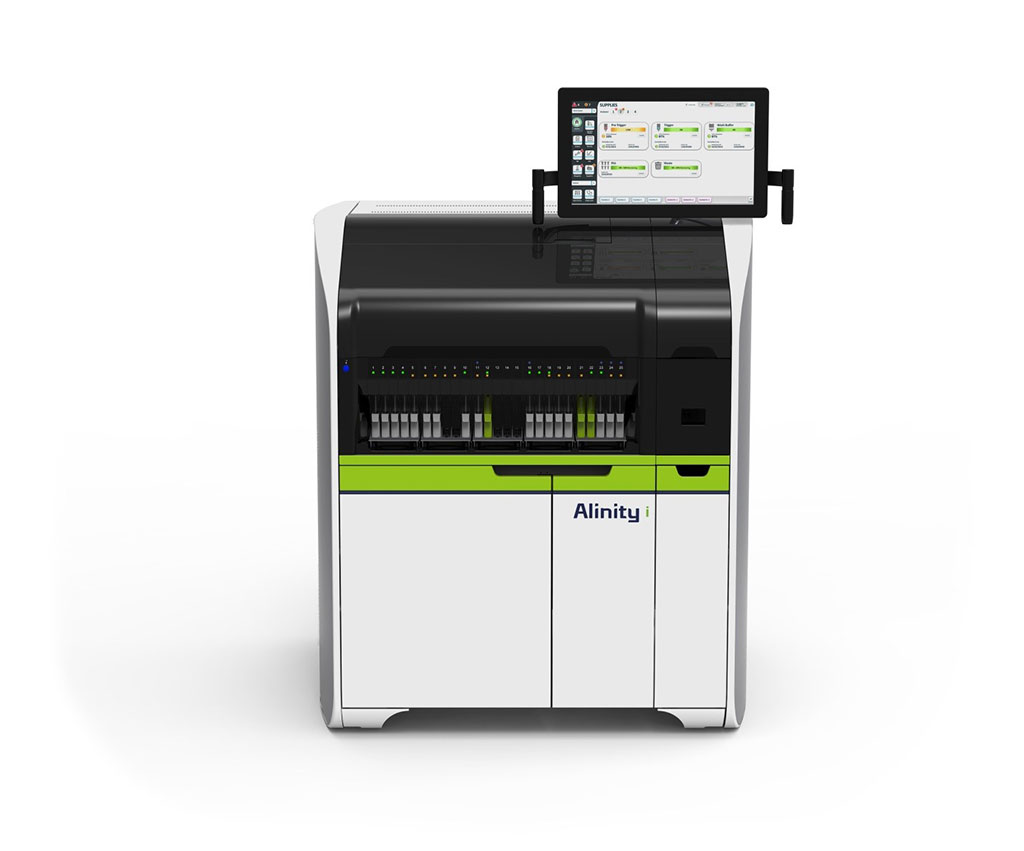 Image: The Alinity i is a compact, immunoassay system that can reliably be used to diagnose infectious diseases (Photo courtesy of Abbott Laboratories).