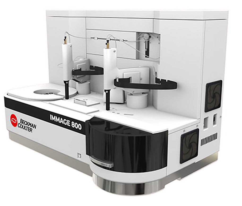 Image: The IMMAGE 800 protein chemistry analyzer (Photo courtesy of Beckman Coulter).
