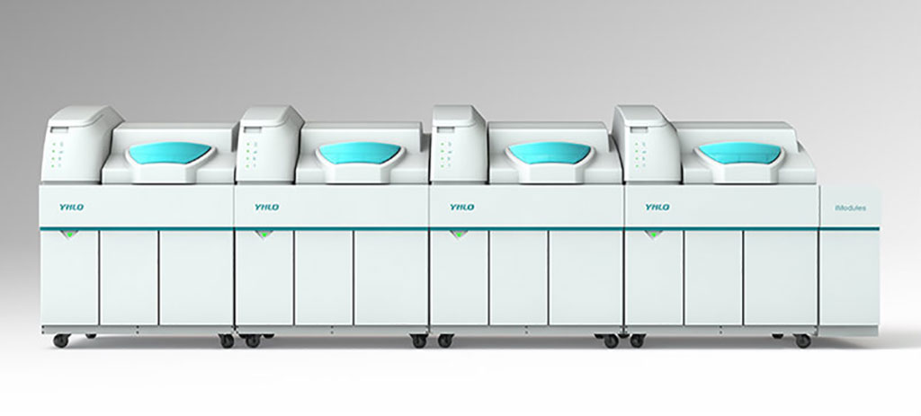 Image: iModules Integration System for Immunoassay (Photo courtesy of Shenzhen YHLO Biotech Co., Ltd.)