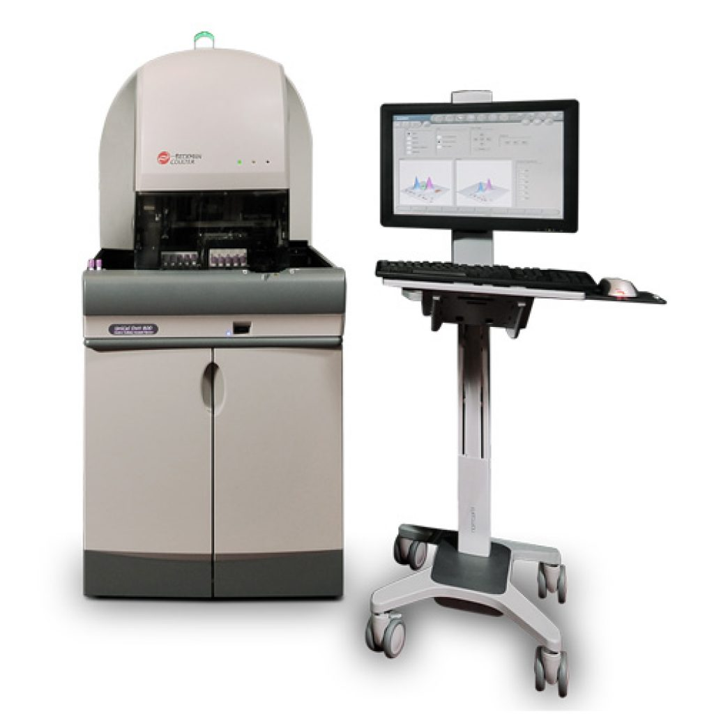 Image: The DxH 800 hematology analyzer, can utilize accurate data about individual cell size, shape and structure to provide high-quality first-pass results with VCS technology (Photo courtesy of Beckman Coulter Inc).