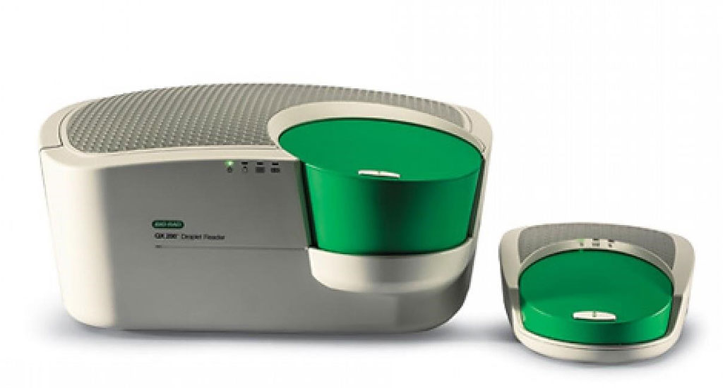 Image: The QX200 Droplet Digital PCR system (Photo courtesy of Bio-Rad).