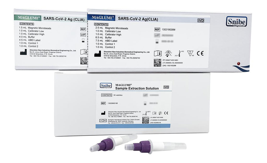 Image: Maglumi SARS-CoV-2 Ag (CLIA) Kit (Photo courtesy of Snibe Diagnostic)