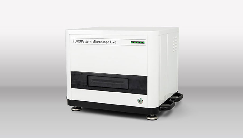 Image: EUROPattern Microscope Live (Photo courtesy of PerkinElmer, Inc.)