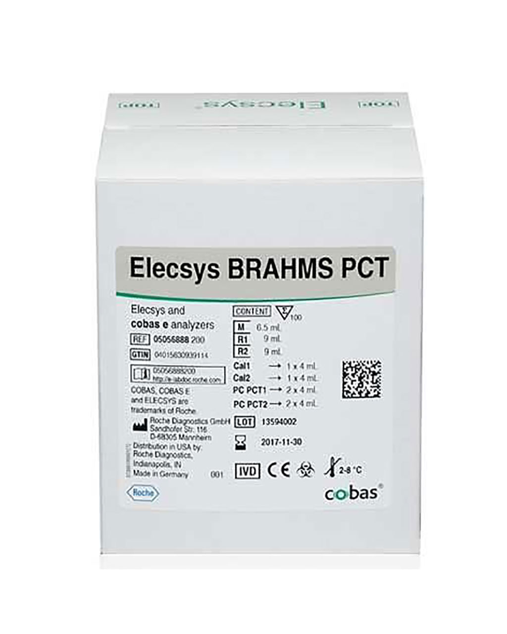 Image: Elecsys BRAHMS PCT Assay measures procalcitonin in human serum (Photo courtesy of Roche Diagnostics).