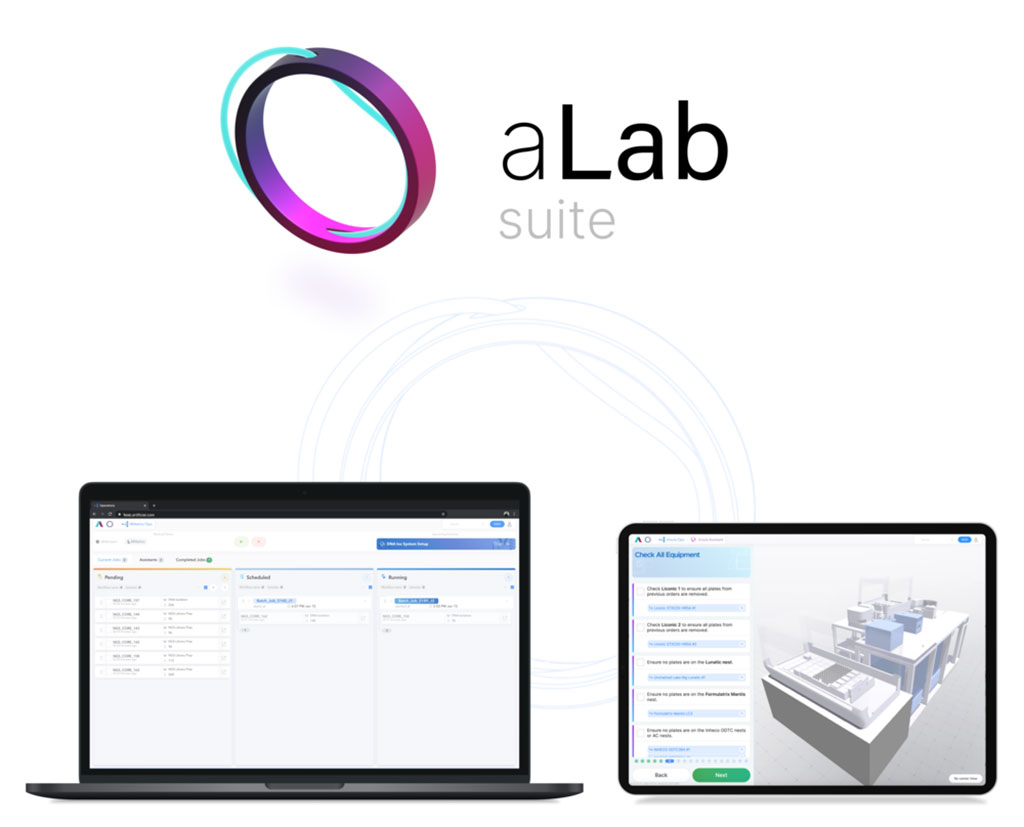 Image: aLab Suite software (Photo courtesy of Artificial, Inc.)