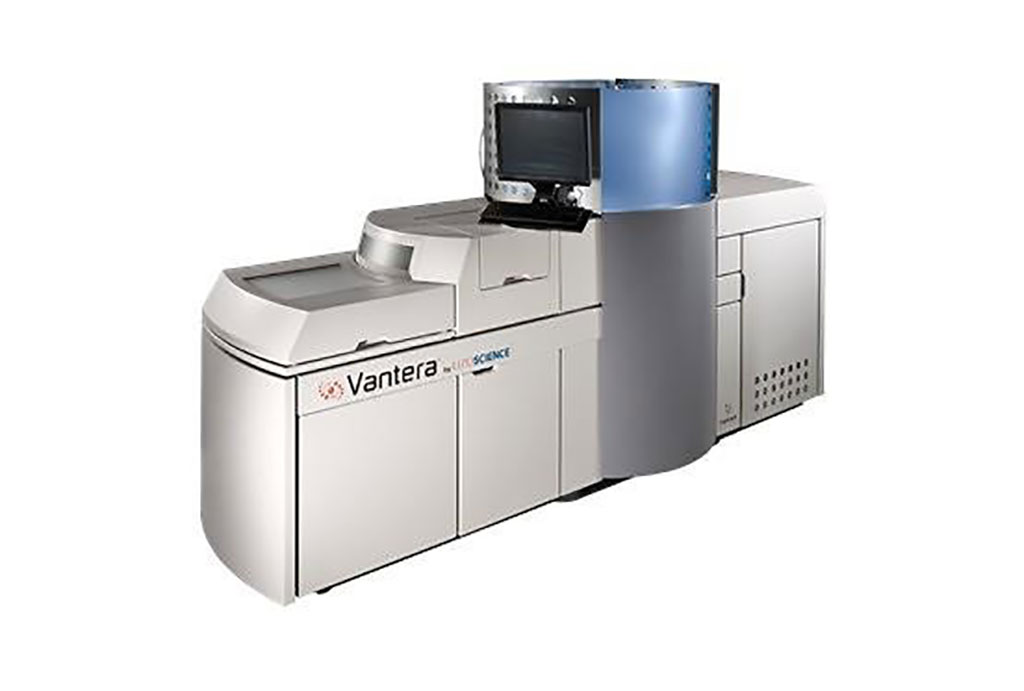 Image: The Vantera Clinical Analyzer based on nuclear magnetic resonance (Photo courtesy of Liposcience)