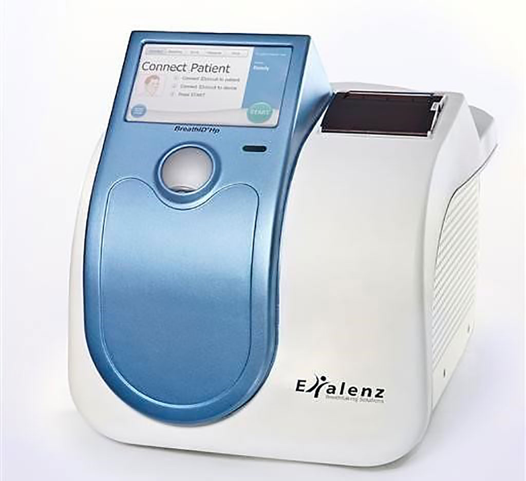 Image: The BreathID Exalenz device (Photo courtesy of Meridian Bioscience)