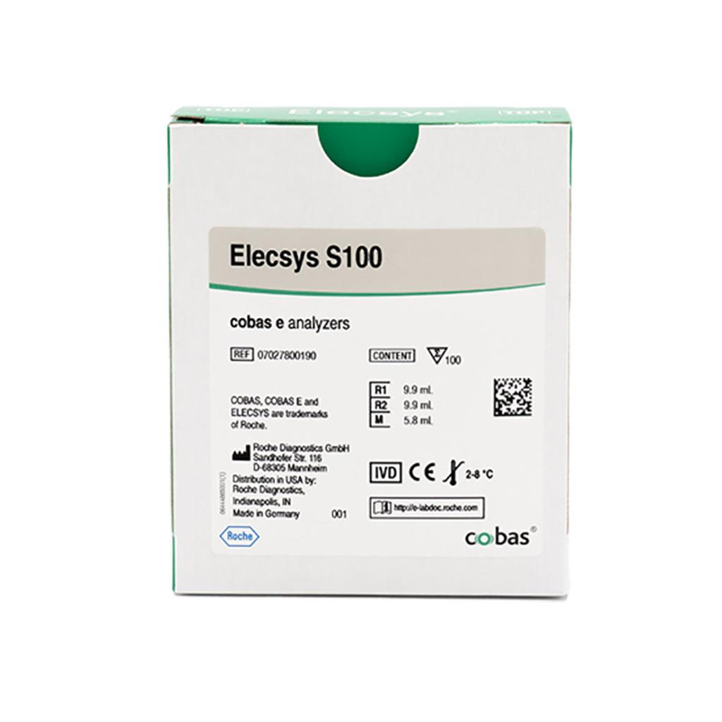 Image: The Elecys S100 Assay, an electro-chemiluminescence immunoassay (ECLIA) for the in vitro quantitative determination of S100 in human serum (Photo courtesy of Roche Diagnostics)