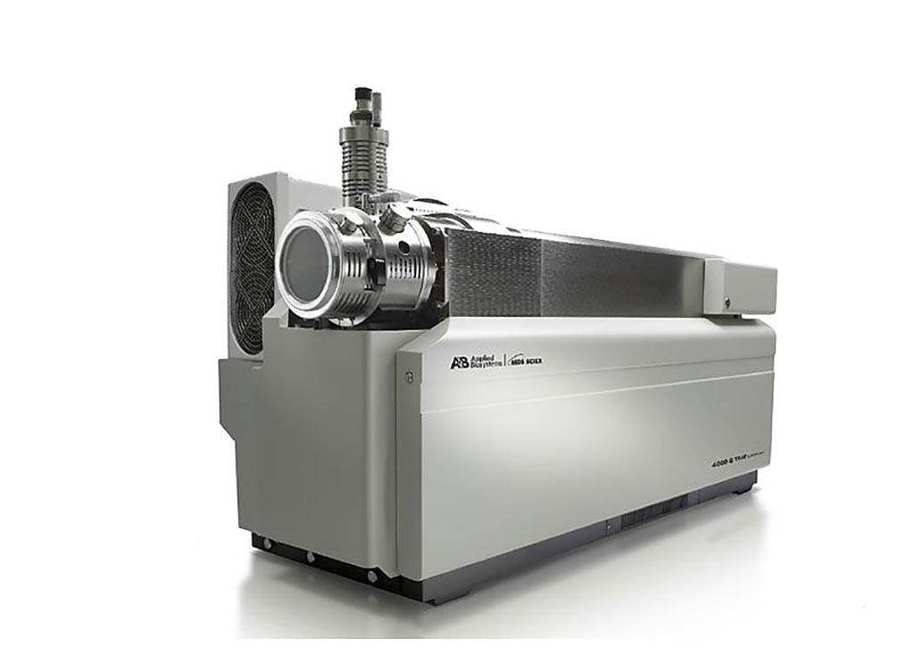 Image: AB Sciex 4000Qtrap quadrupole mass spectrometer (Photo courtesy of Sciex)