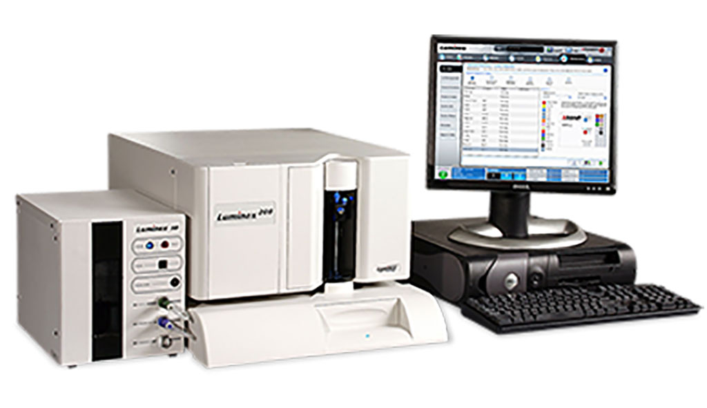Image: A platform for multiplexing up to 100 analytes such as proteins in a single well of a microtiter plate (Photo courtesy of Luminex Corporation)