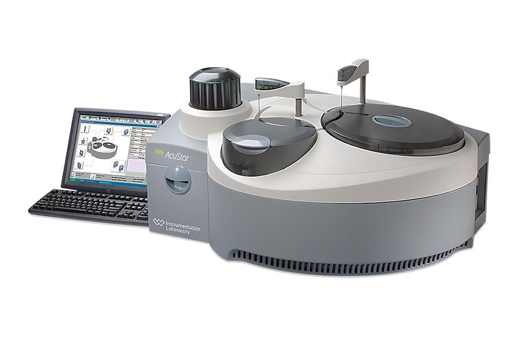 Image: The AcuStar Hemostasis Testing System (Photo courtesy of Werfen)