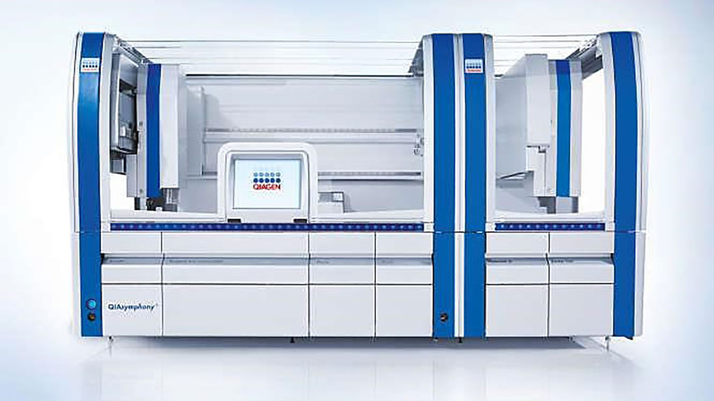 Image: The QIAsymphony SP enables sample preparation of DNA, RNA, and bacterial and viral nucleic acids from a wide range of starting materials (Photo courtesy of Qiagen)