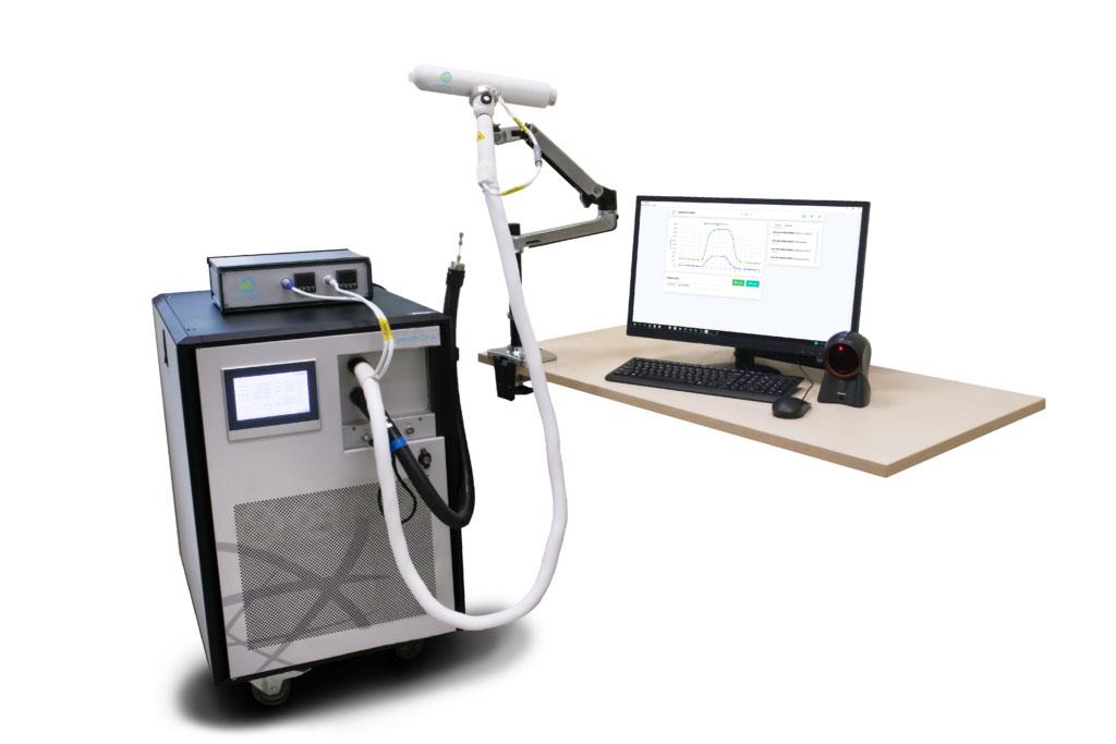 Image: The BreFence Go COVID-19 breath test system (Photo courtesy of Breathonix Pte Ltd)