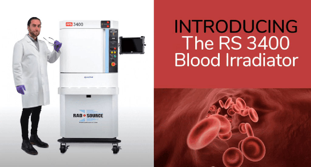 Image: X-Ray Blood Irradiator RS 3400 (Photo courtesy of Rad Source Technologies)