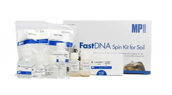 Image: FastDNA Spin Kit for Soil (Photo courtesy of MP Biomedicals)