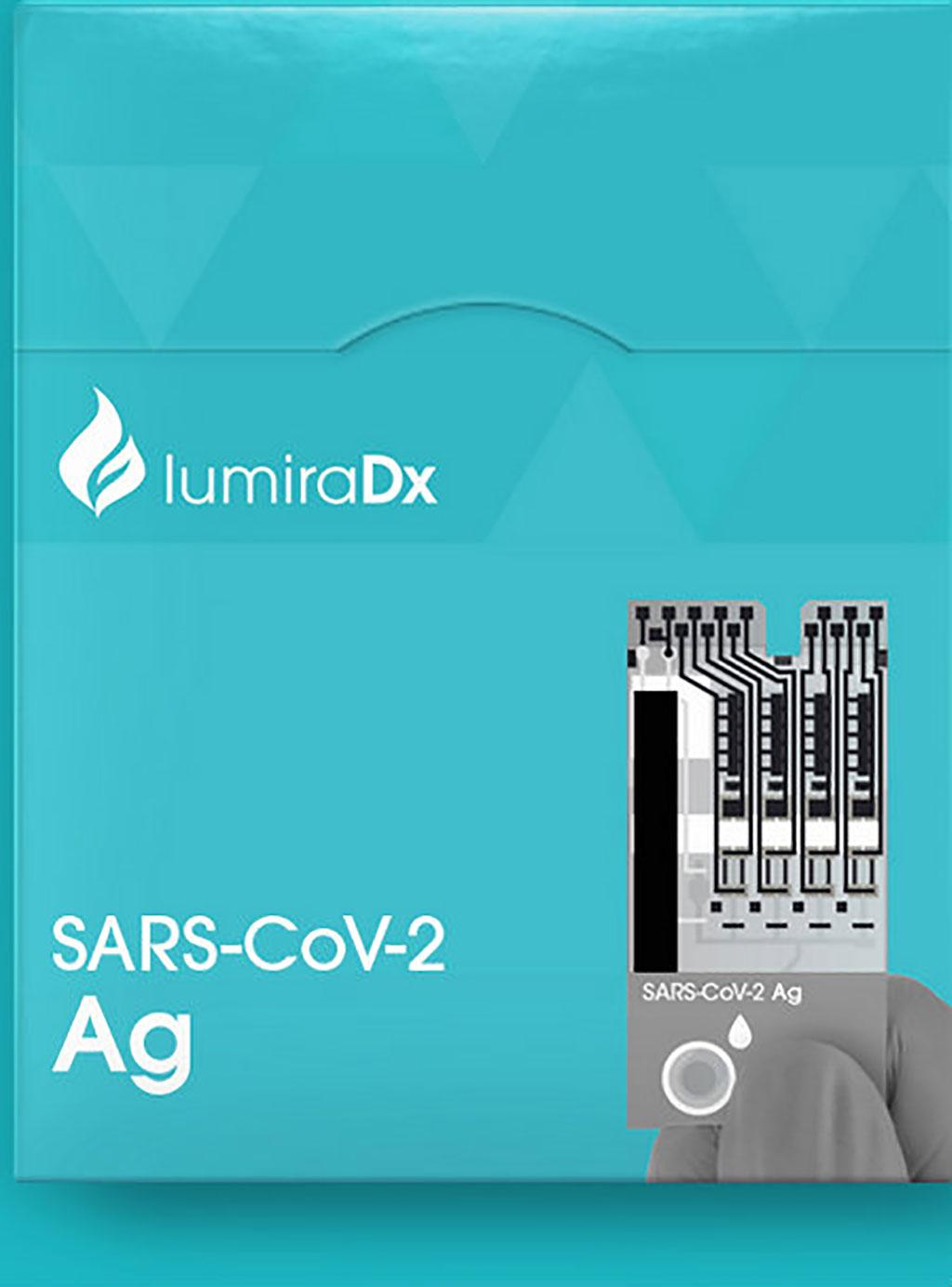 Image: LumiraDx SARS-CoV-2 Ag Test (Photo courtesy of LumiraDx)