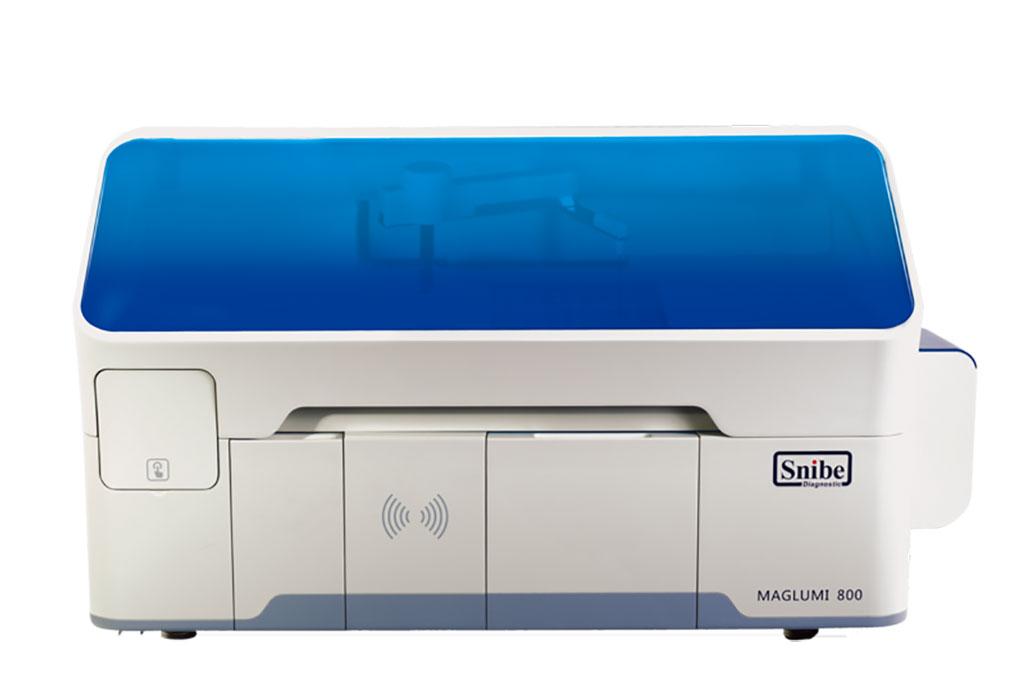 Image: The MAGLUMI 800 Automatic immunoassay analyzer (Photo courtesy of Snibe)
