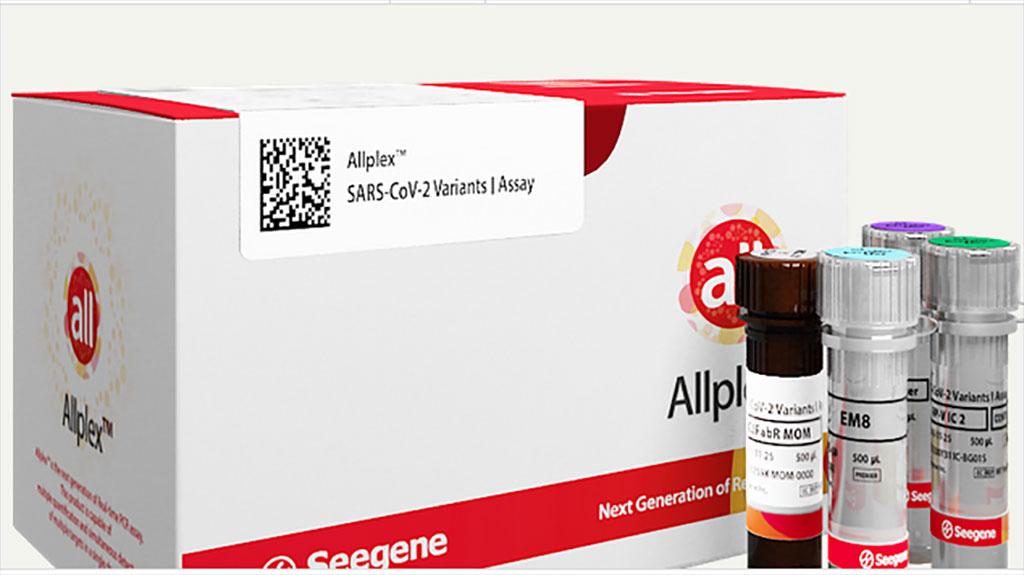 Image: Allplex SARS-CoV-2 Variants I Assay (Photo courtesy of Seegene, Inc.)