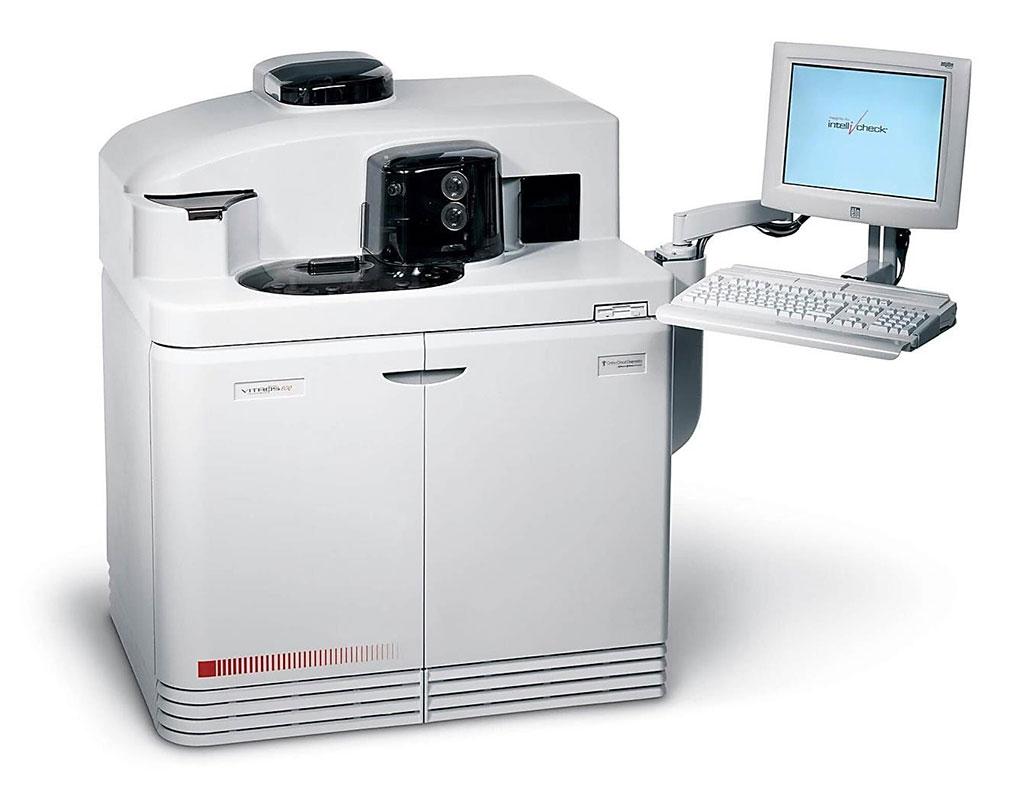 Image: The VITROS ECiQ Immunodiagnostic System (Photo courtesy of Ortho Clinical Diagnostics)
