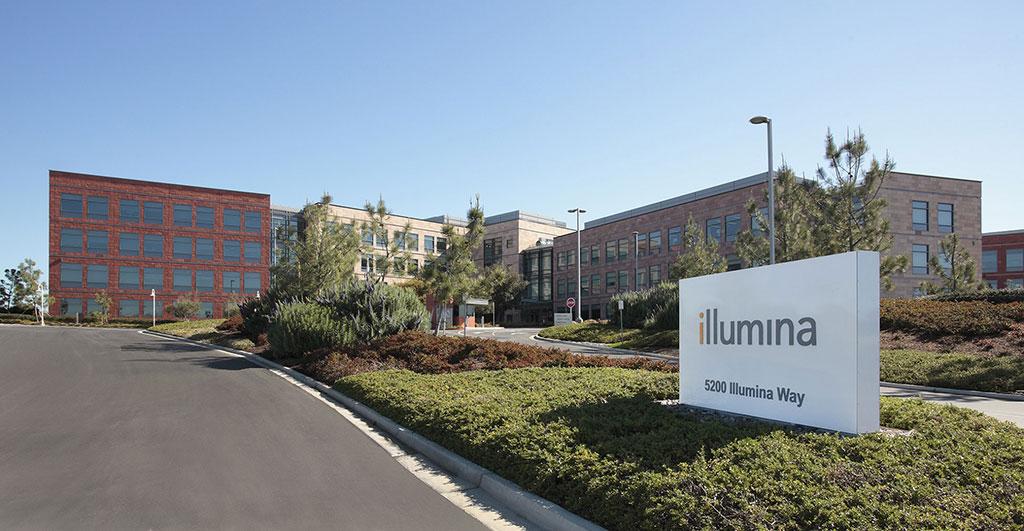 Image: Illumina headquarters in San Diego, California (Photo courtesy of Illumina)