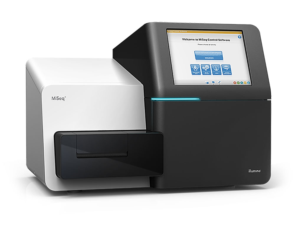 Image: The MiSeq benchtop sequencer enables targeted and microbial genome applications, with high-quality sequencing, simple data analysis, and cloud storage (Photo courtesy of Illumina)