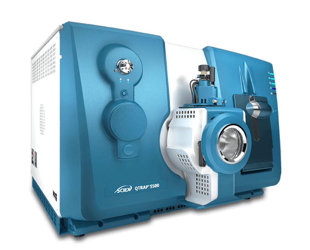 Image: The AB SCIEX QTRAP 5500 System is a high sensitivity, bench top hybrid triple quadrupole-Linear Accelerator trap mass spectrometer designed for LC/MS/MS analyses (Photo courtesy of SCIEX)