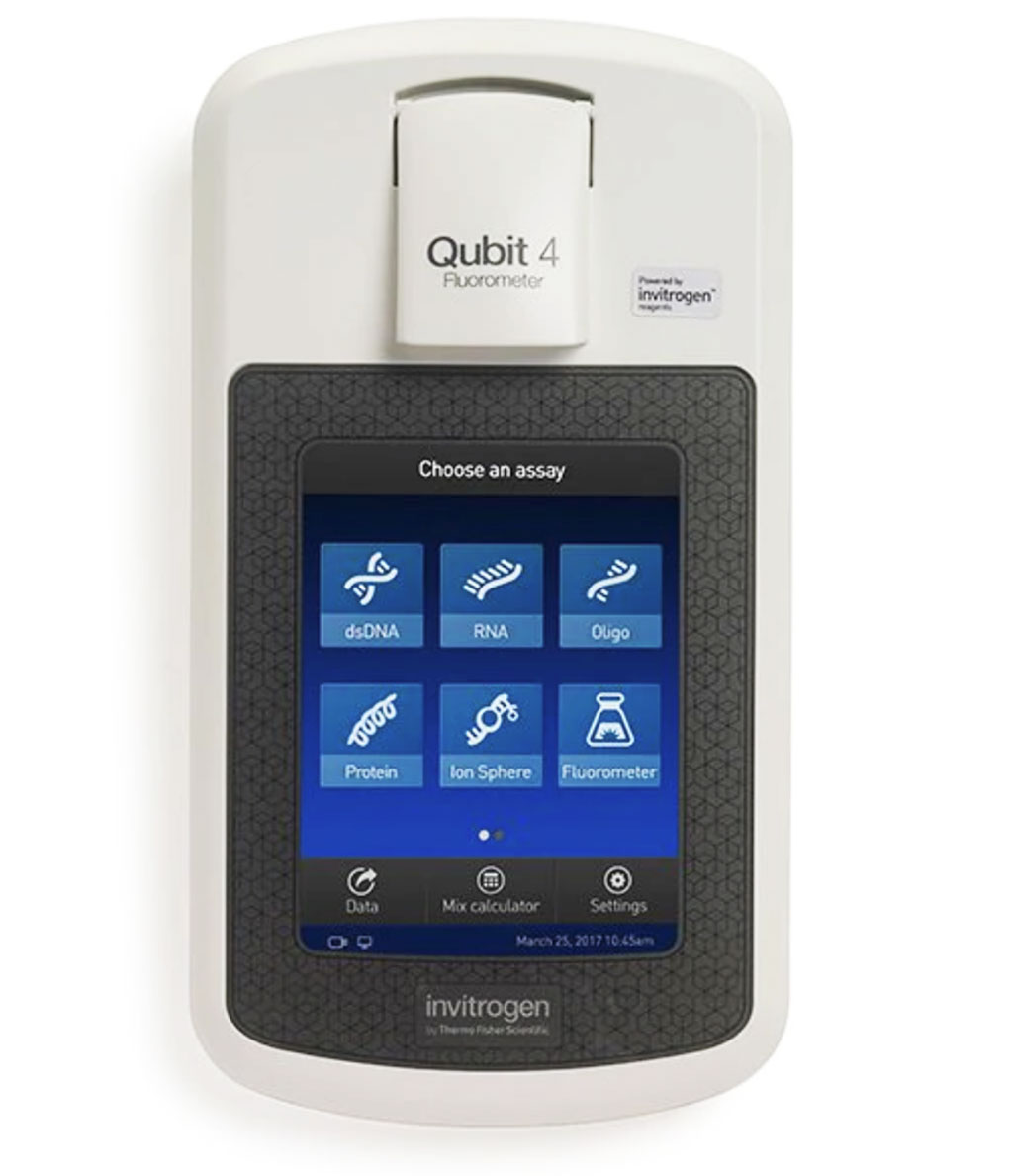 Image: The Invitrogen Qubit 4 Fluorometer is designed to accurately measure DNA, RNA, and protein quantity (Photo courtesy of Thermo Fisher Scientific)