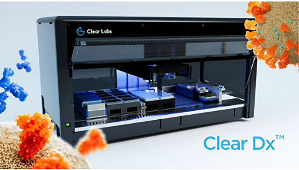 Image: Clear Dx platform (Photo courtesy of Clear Labs)